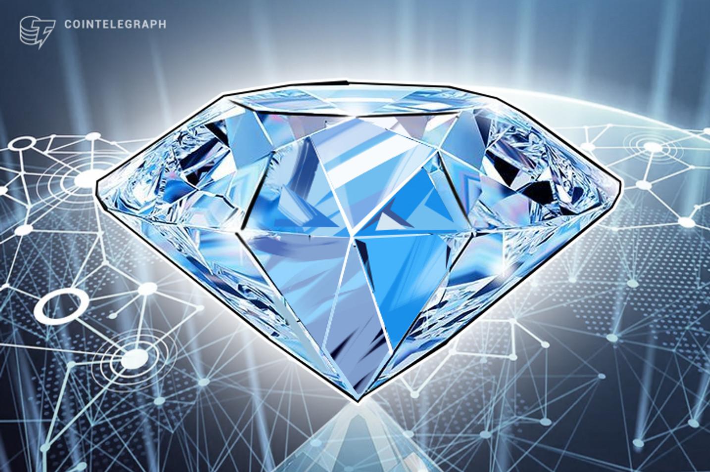 Compañia minera canadiense de diamantes contrata nuevo CEO, se convierte a la Blockchain