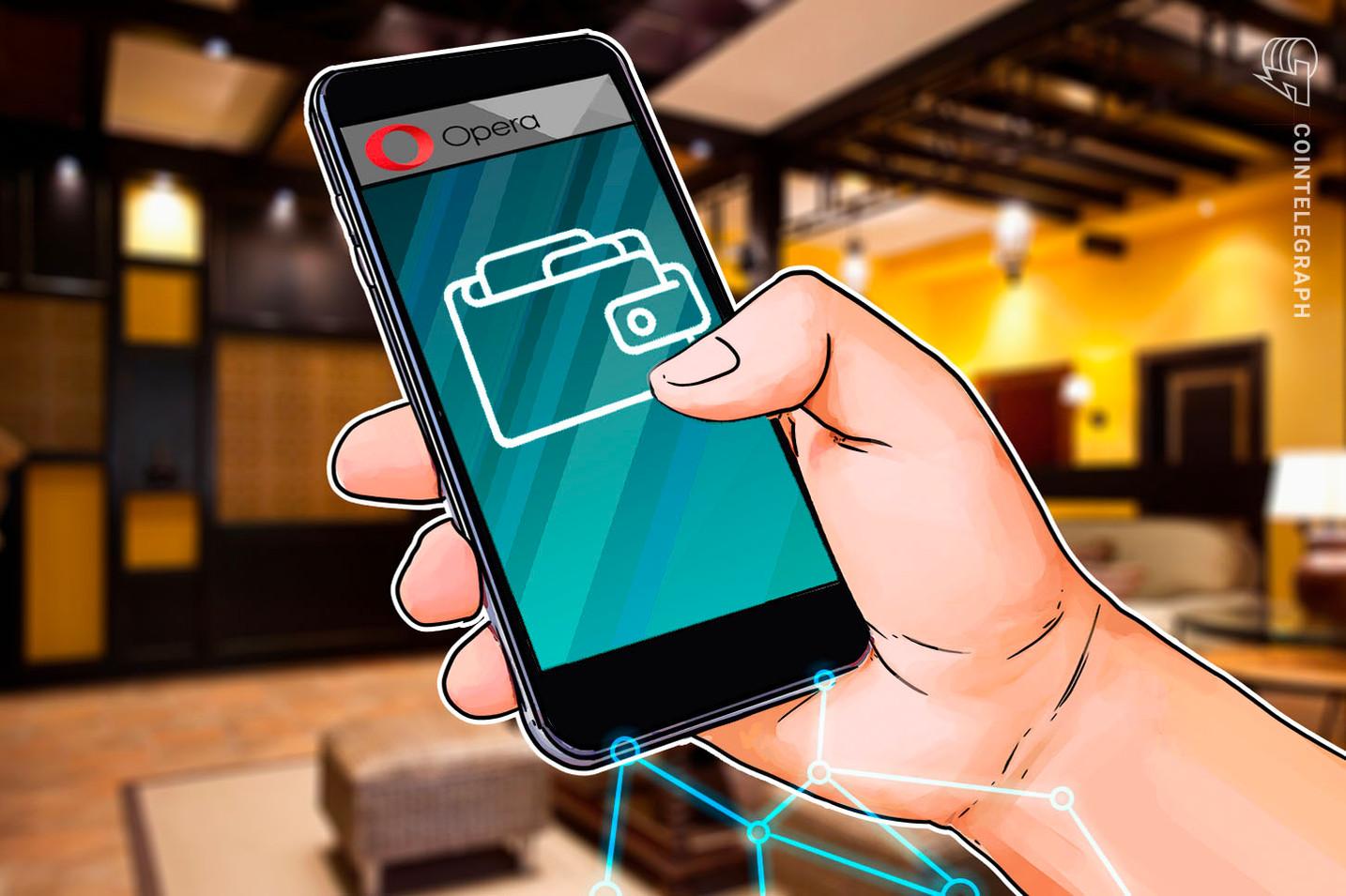 Opera expande la recarga de billeteras cripto al Reino Unido