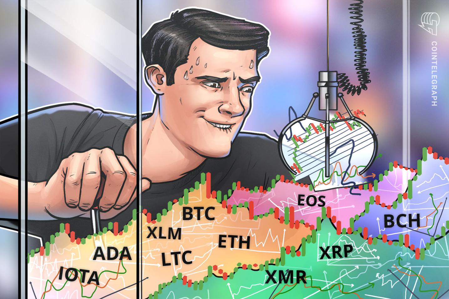 Bitcoin, Ethereum, Ripple, Bitcoin Cash, EOS, Stellar, Litecoin, Cardano, Monero, Dash: Analisi dei prezzi, 1 ottobre