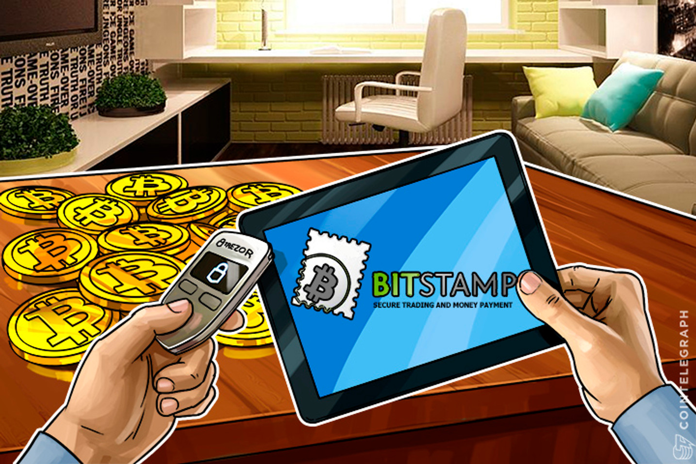 Bitstamp Bitcoin Exchange and Trezor Bitcoin Wallet Forge New Partnership