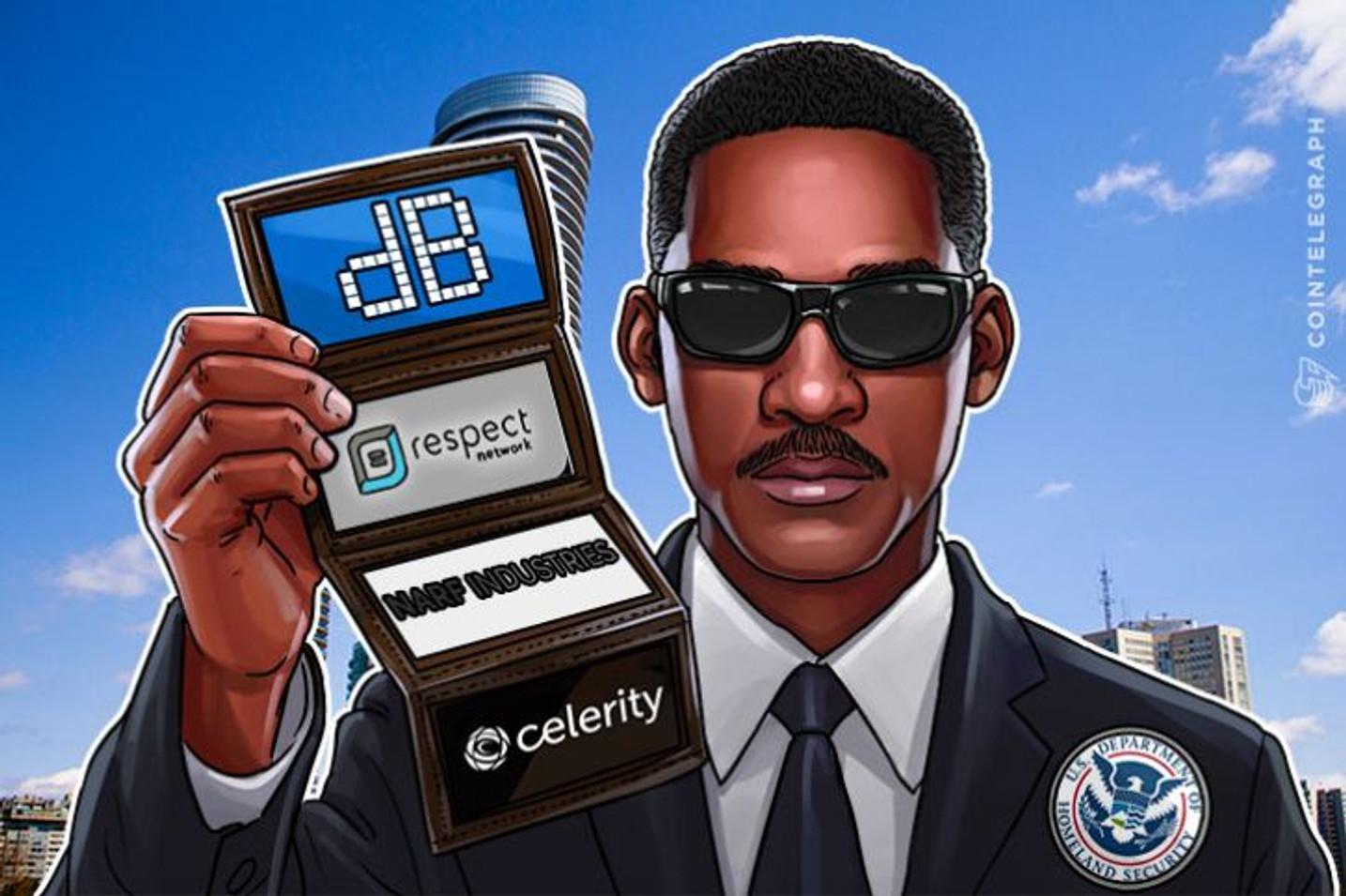 400.000 dolara za četiri blockchain firme za razvoj sistema provere identiteta