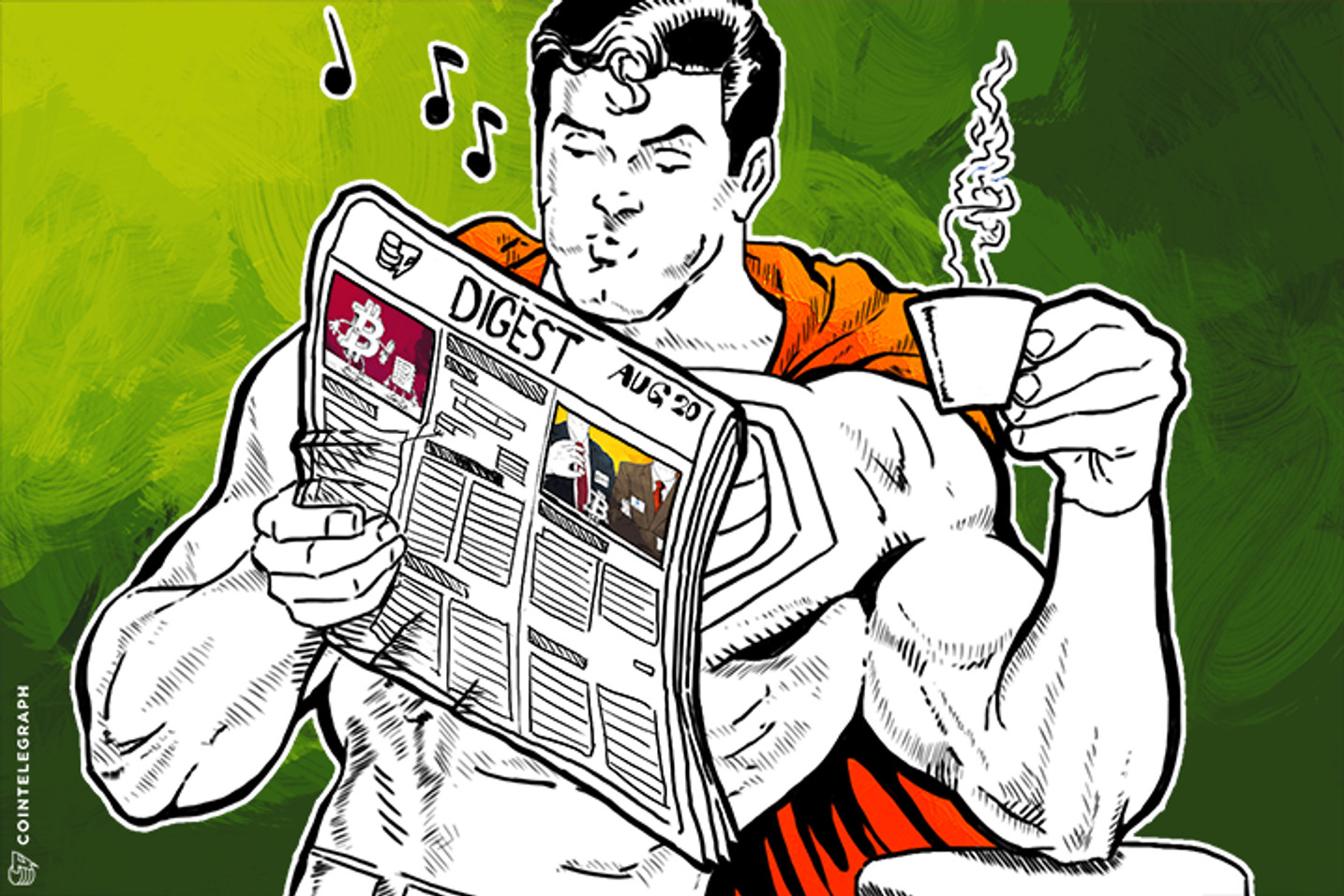 AUG 20 DIGEST: Bank of England Says Digital Currency is 'Harder Money' than Gold; Nigeria's Bank Calls for Bitcoin Regulation