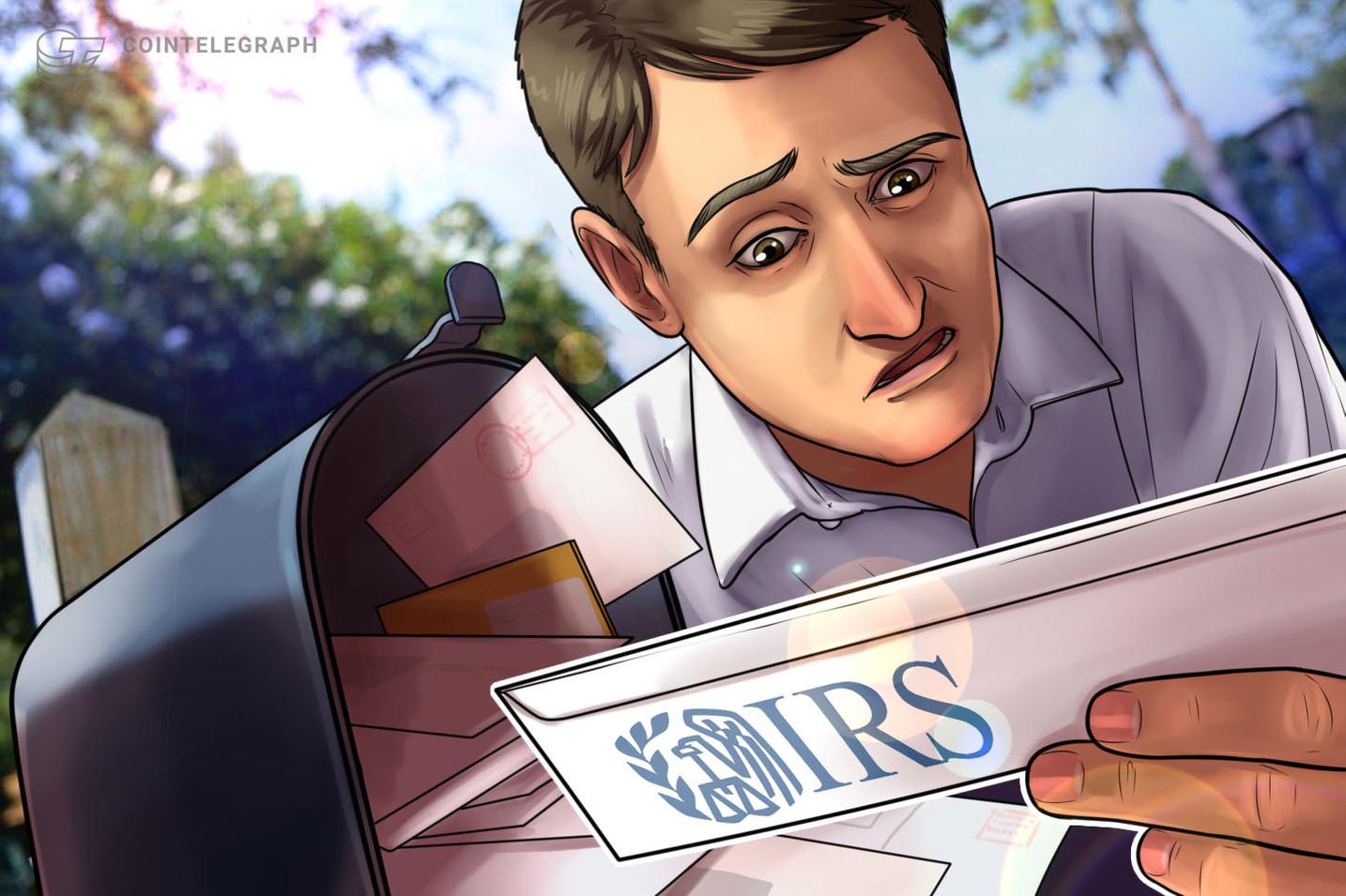Los inversores en criptomonedas deberían saber que el IRS está retrasando los pagos de impuestos