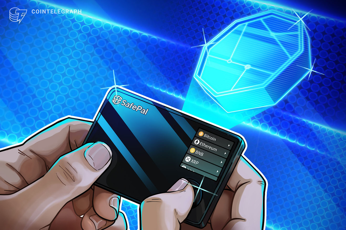 Binance-backed tokenized hardware wallet offers DeFi and NFT features