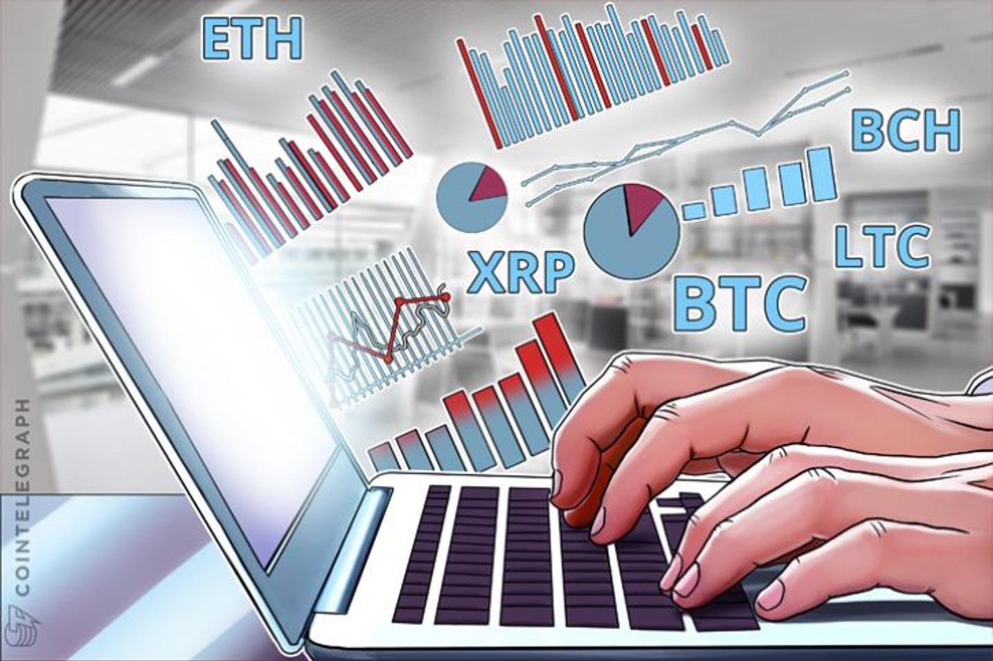 Bitcoin, Ethereum, Bitcoin Cash, Ripple, Litecoin: Análisis de precios, 13 de octubre