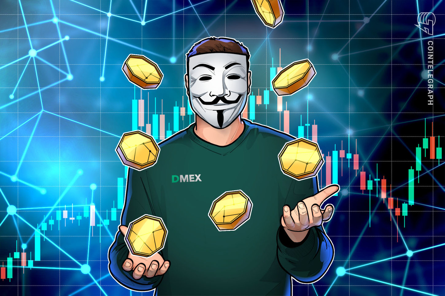 DEX offers margin trading, anonymity, fast withdrawals and no KYC
