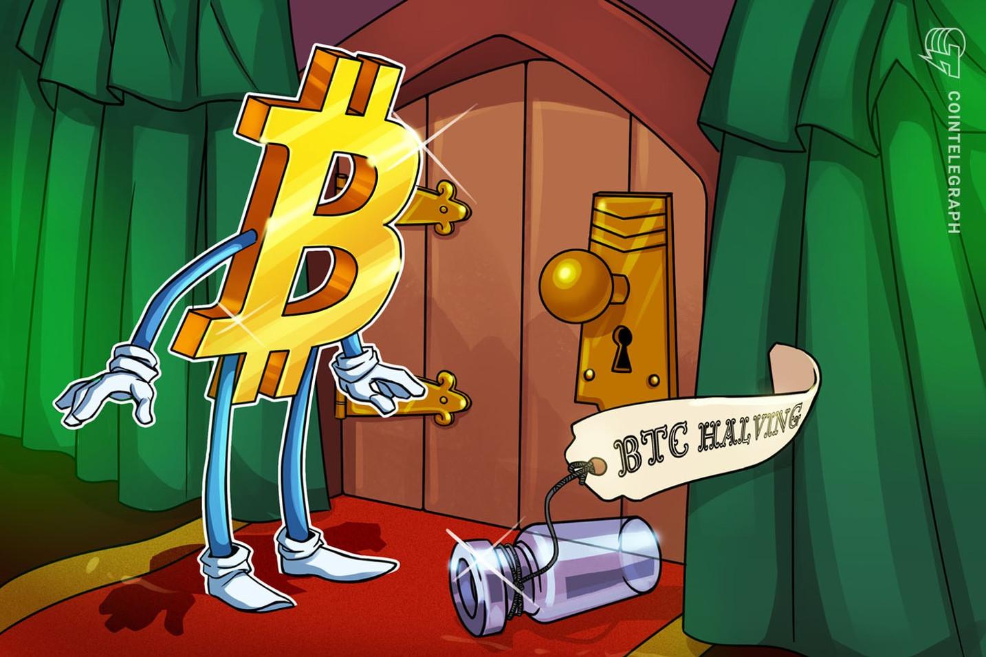 仮想通貨ビットコイン半減期まで残り1万ブロック、価格は上がるか?