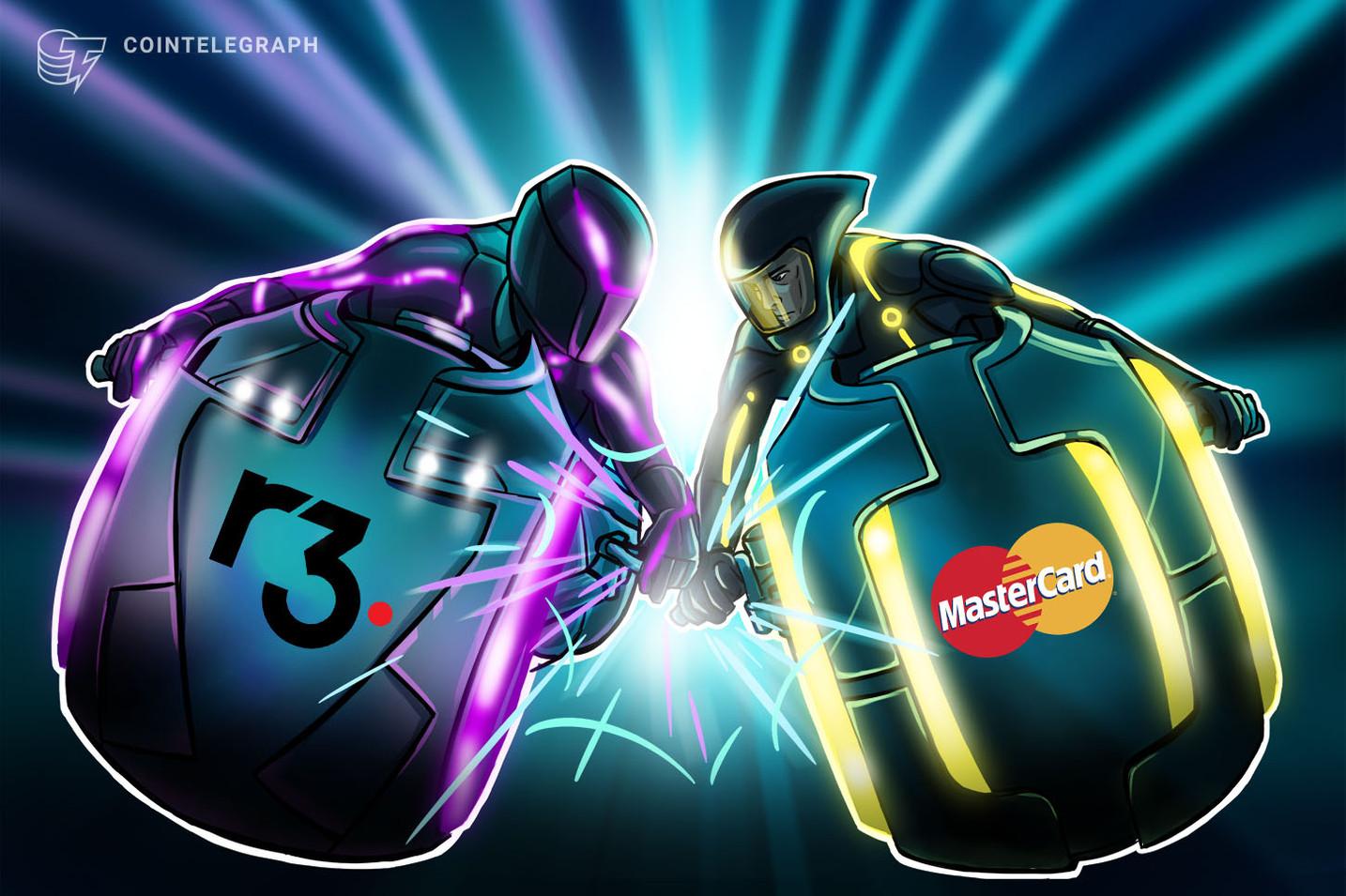 Mastercard faz parceria com a empresa blockchain R3 para solução de pagamentos