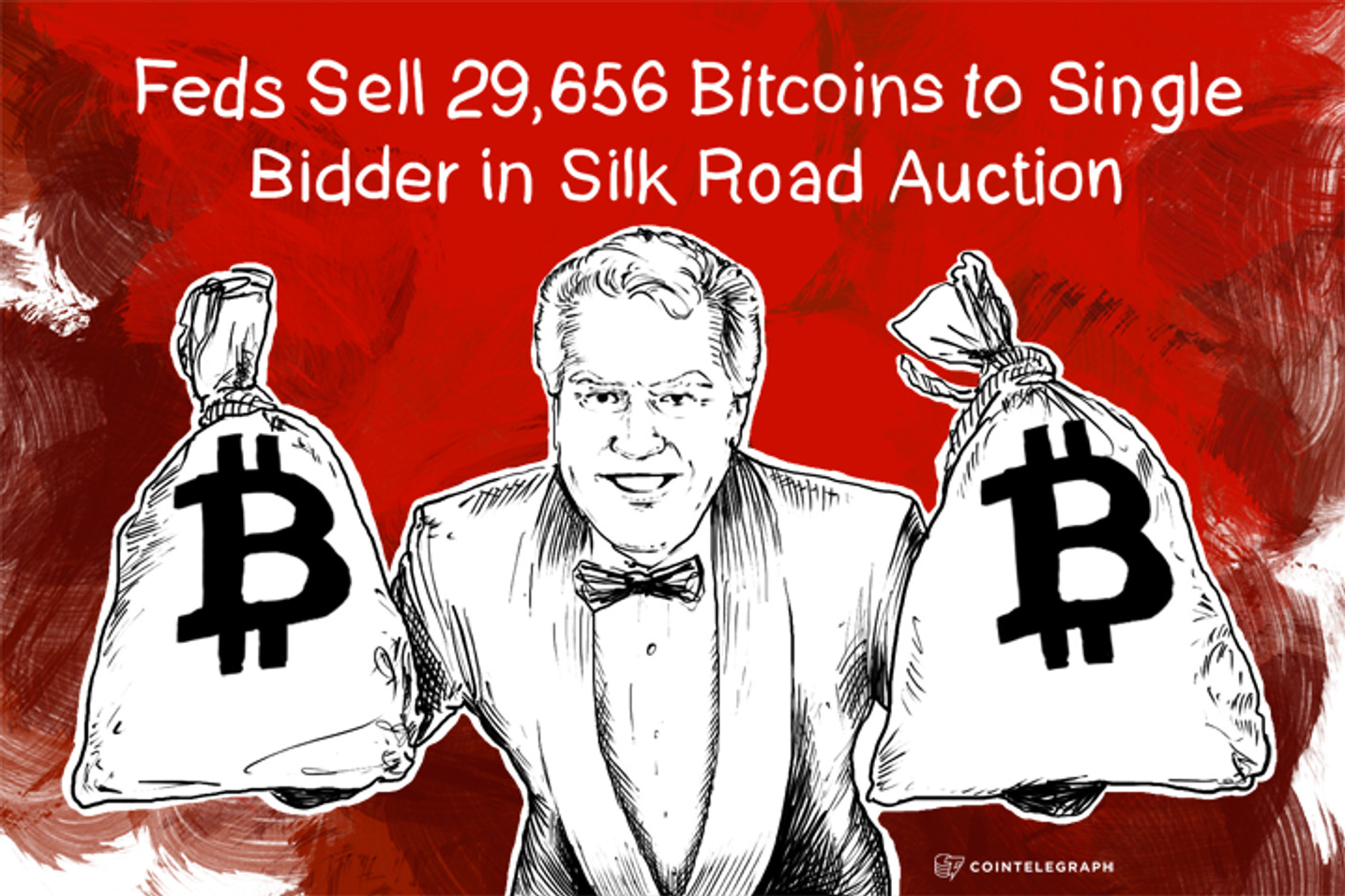 Feds Sell 29,656 Bitcoins to  Tim Draper in Silk Road Auction
