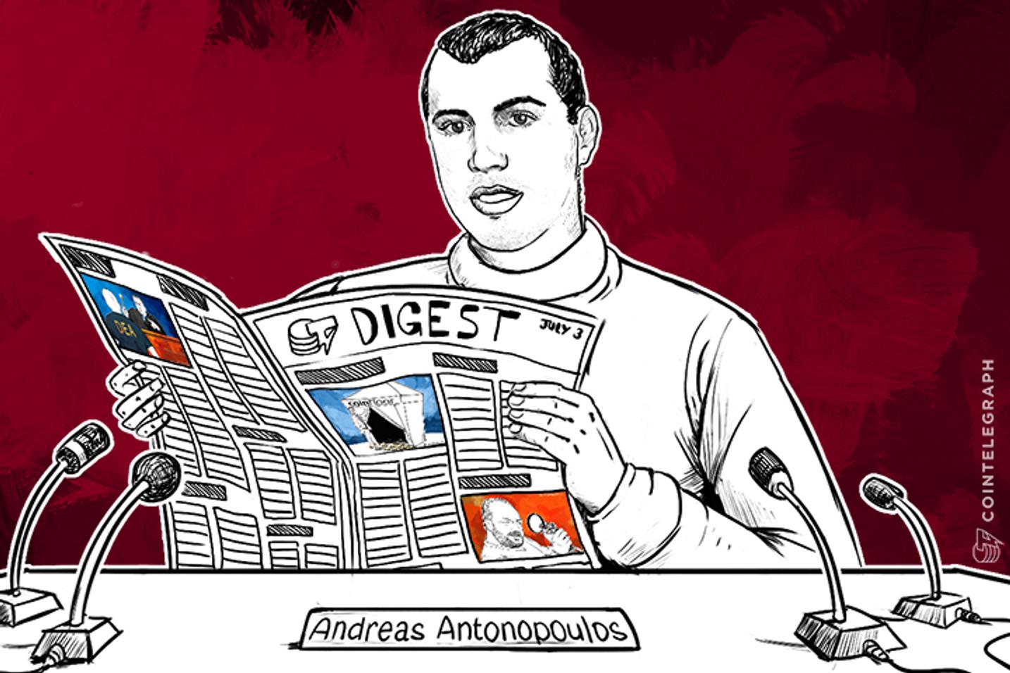 JUL 3 DIGEST: Escort Teaches Other Escorts about Bitcoin; BNP Paribas Calls Bitcoin a Disruptive Invention