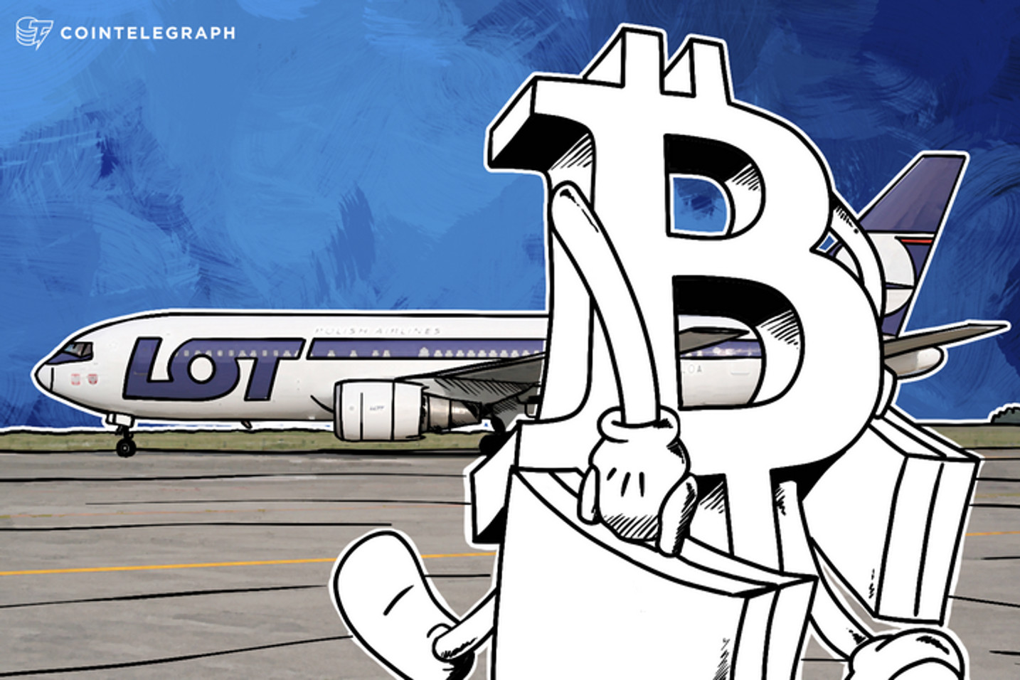 Poland's State-Owned LOT Airlines Now Accepts Bitcoin