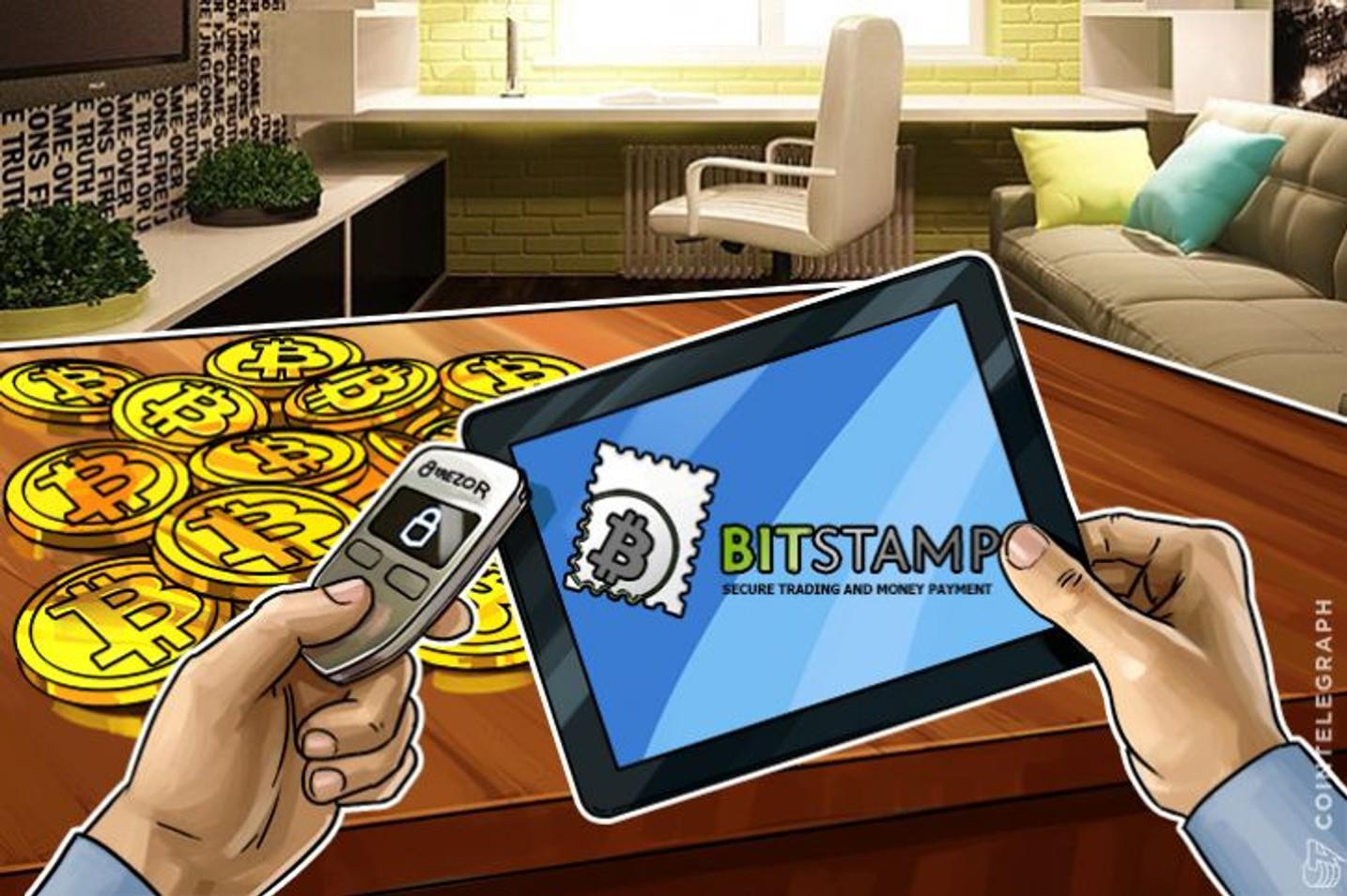 ビットコイン取引所BitstampとハードウォレットメーカーTrezorが新たなパートナーシップを締結