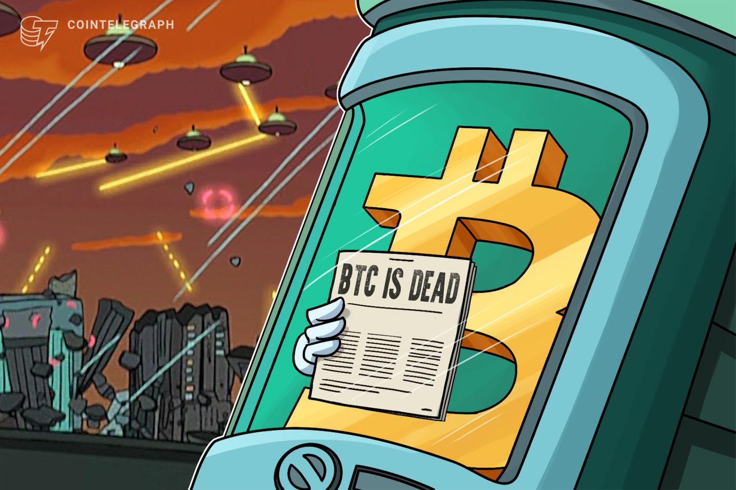 Bitcoin ha vissuto più a lungo del primo sito ad aver pronosticato la sua morte