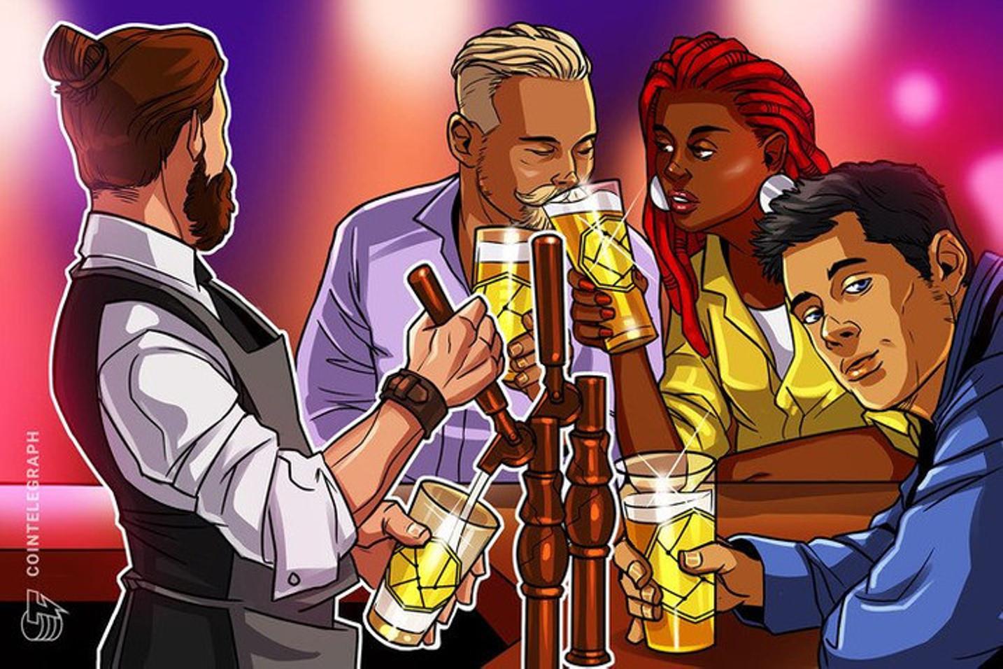 Cerveja com criptoativos: Dona da Budweiser, Stella Artois e Brahma fecha parceria para lançar NFTs