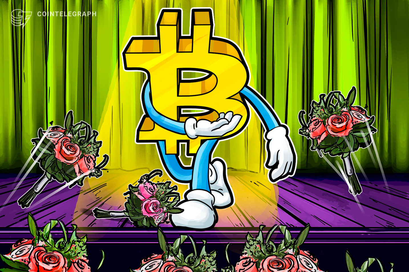 Bitcoin Reclaims $8K as Coins See Green, Experts Warn of Ominous Stock Market Volatility
