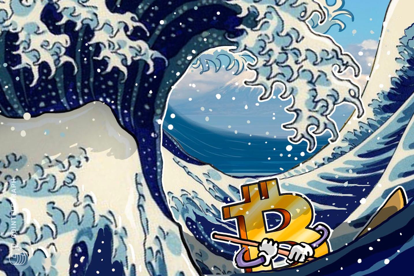 世界不安の中、ビットコイン8000ドルをなんとか維持|今日の難易度調整は大幅プラスに