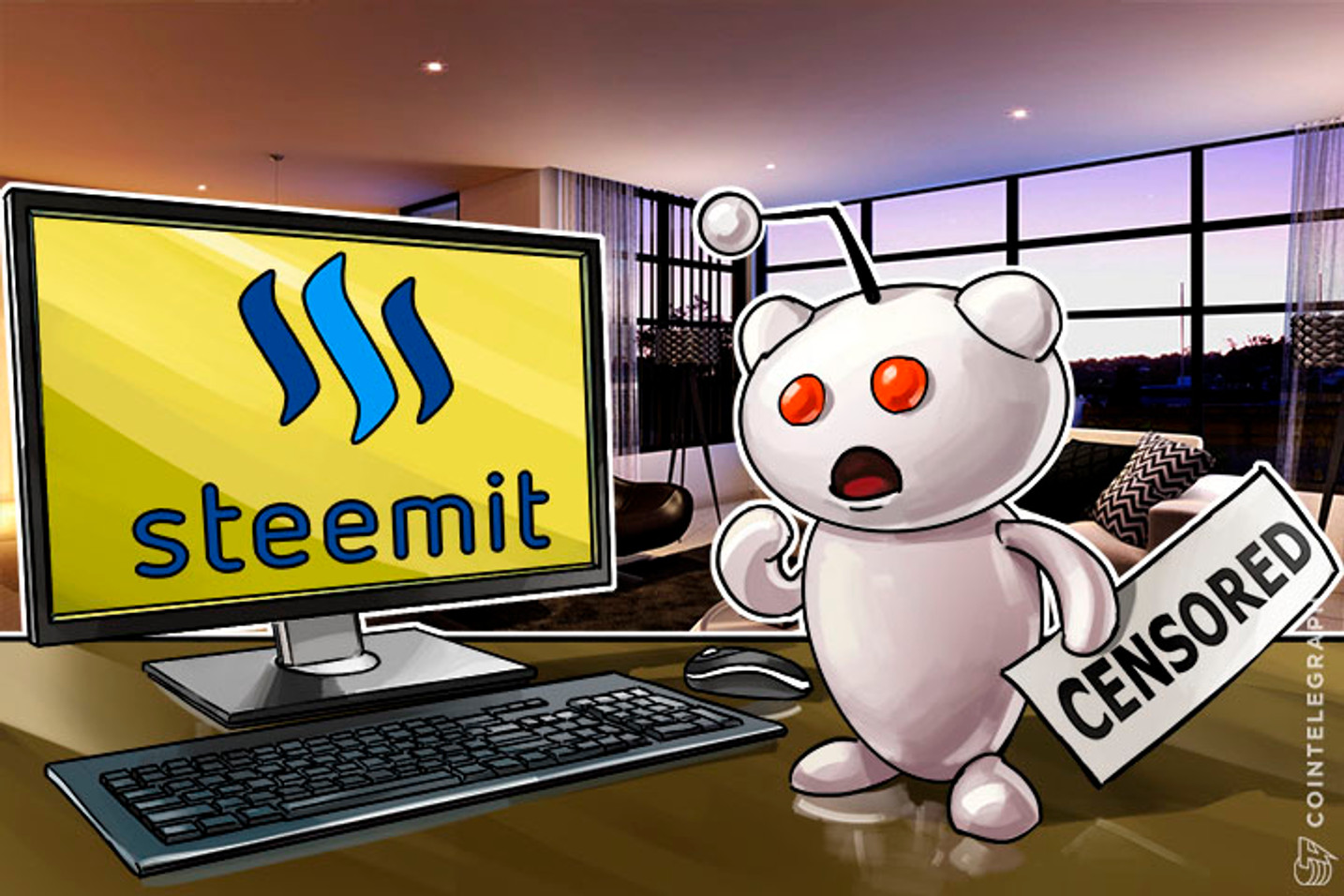 Blockchain Social Platform Steemit Takes Advantage of Reddit's Heavy Censorship