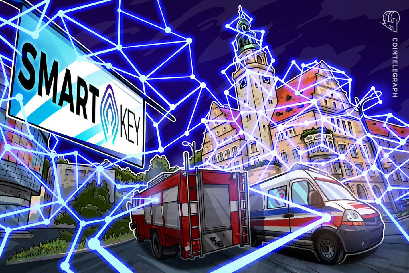 Smart NFT Project joins major telecom to power future of smart cities