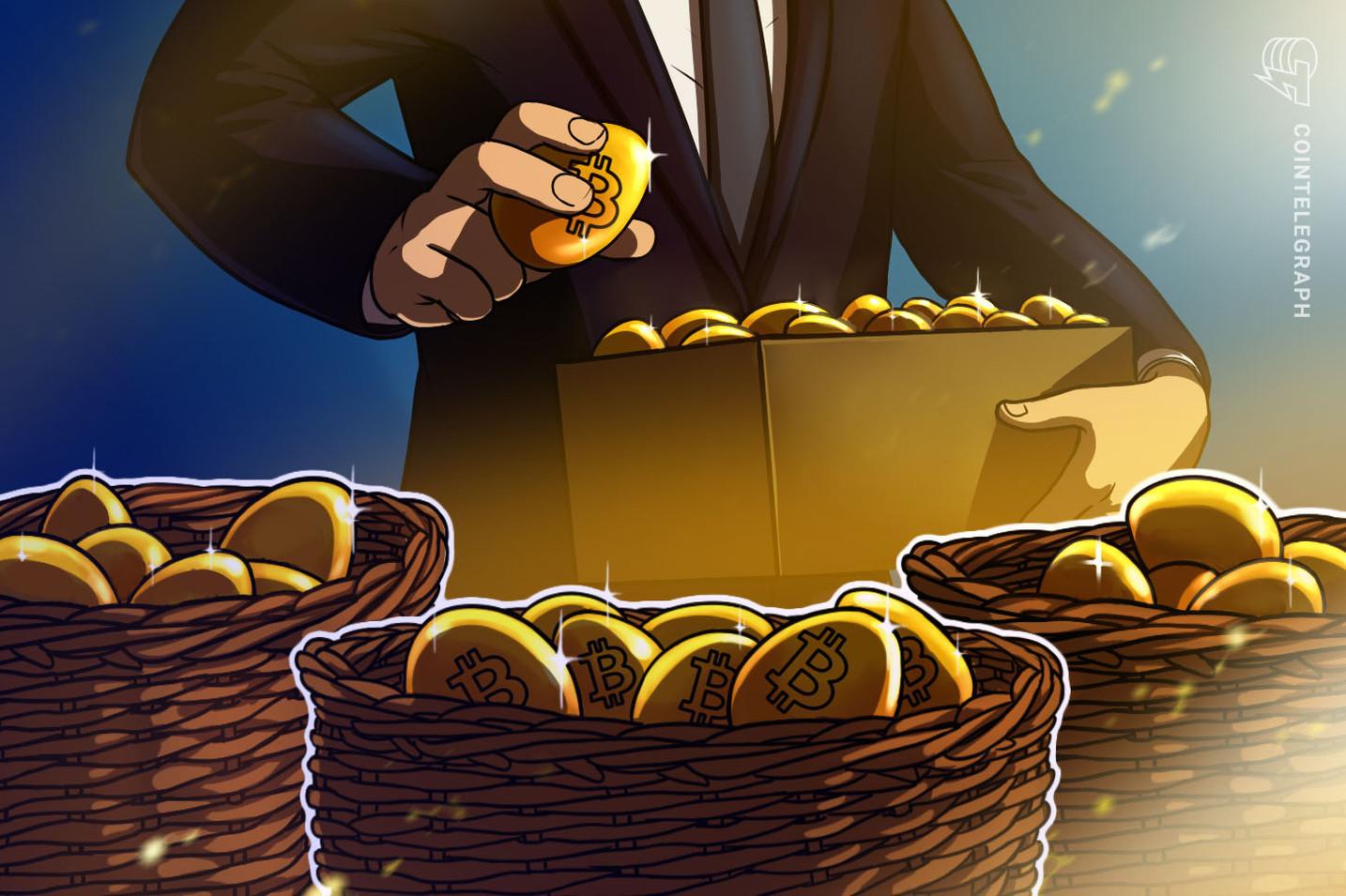 ポートフォリオ1%に仮想通貨ビットコイン、「もはやクレイジーじゃない」=マーク・ユスコCEO