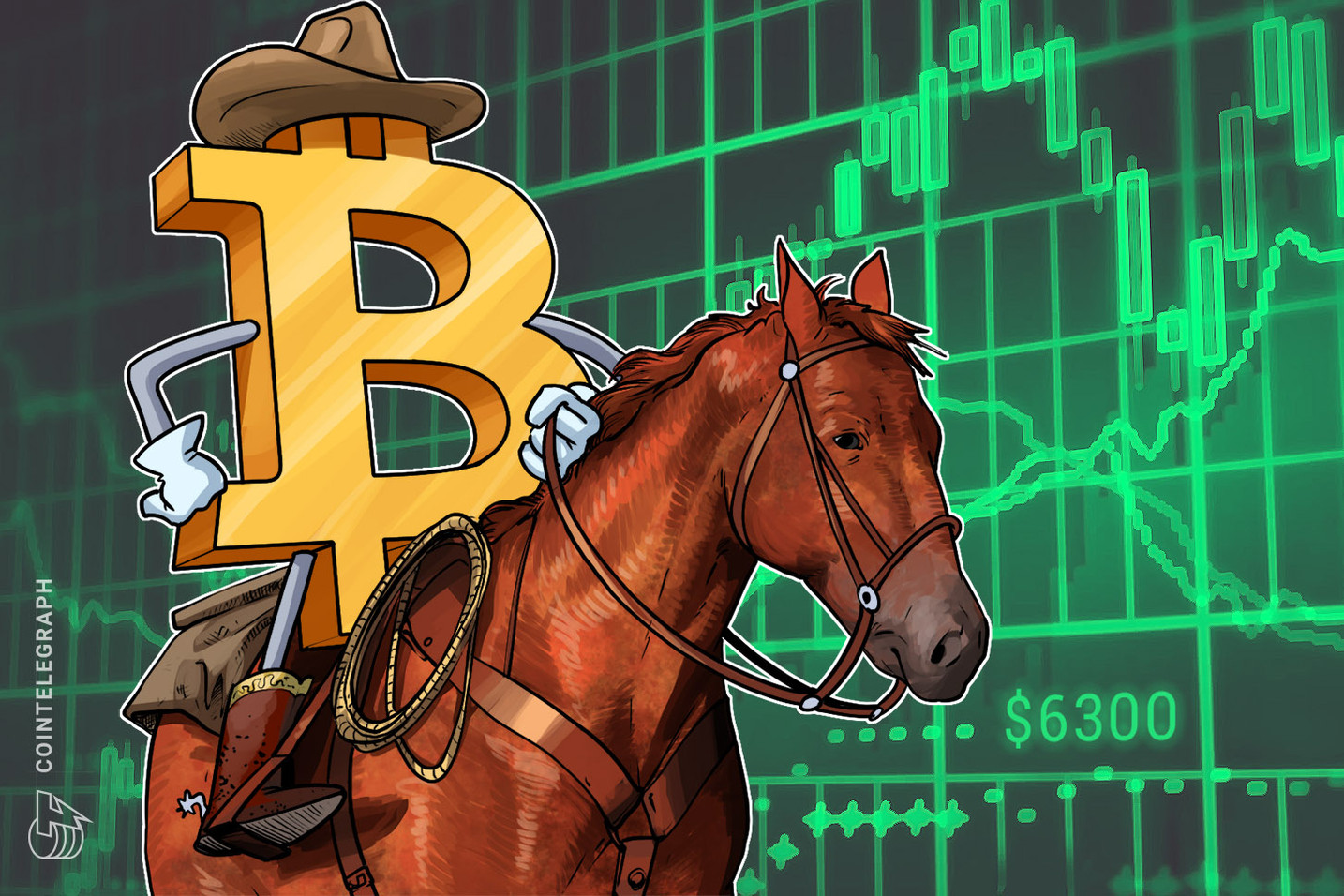 Bitcoin Surges Above $6,300, Hits Dominance Records From December 2017