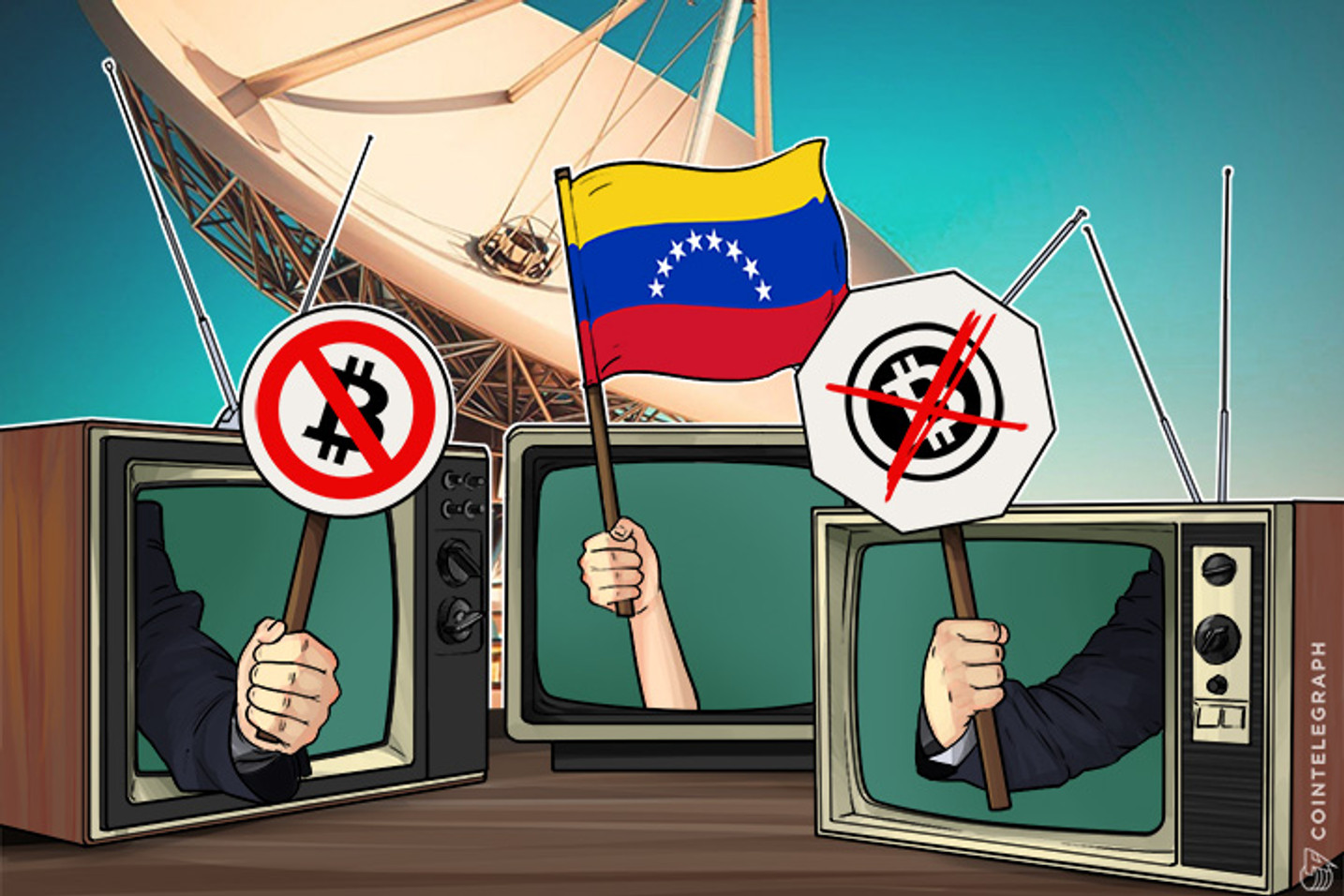 Venezuelan Government Launches Anti-Bitcoin Campaign