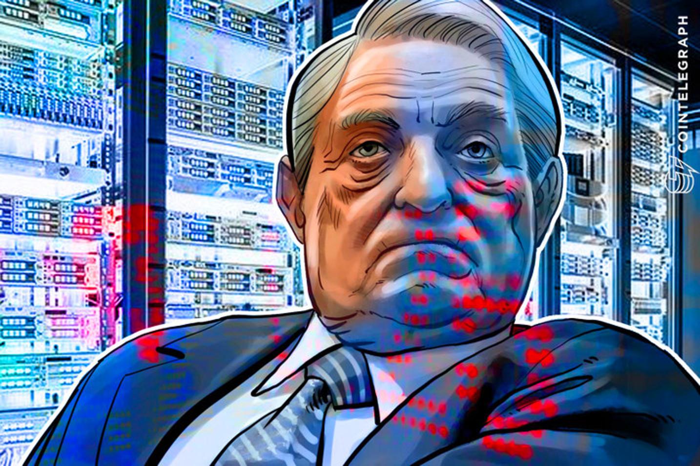 George Soros pode quebrar o Bitcoin da mesma forma que quebrou o Banco da Inglaterra?