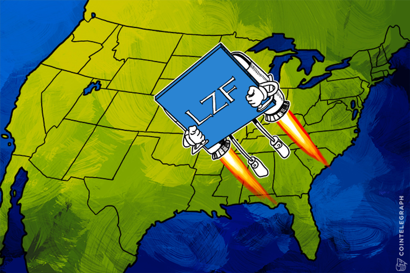 Bitcoin Exchange LZF Legally Launches in 49 States, Excluding New York