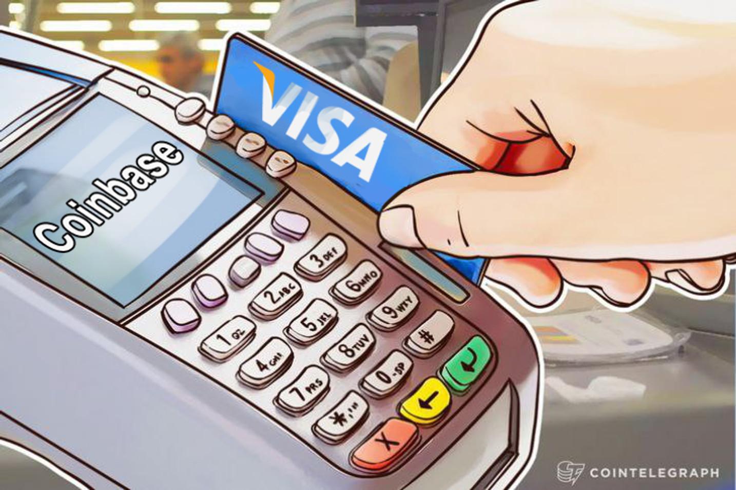 Visa, Worldpay se responsabiliza por los cargos duplicados en Coinbase, revierte las transacciones