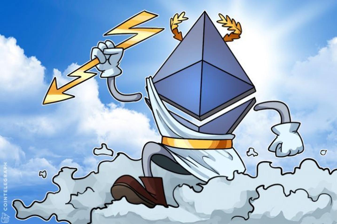 Ethereum rompe os US $ 500 pela primeira vez no frenesi cripto