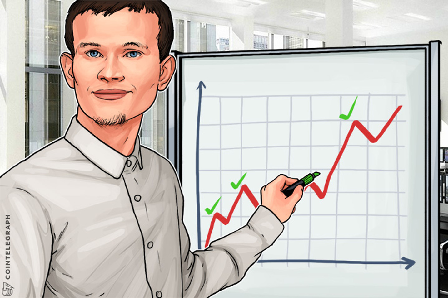 Ether Price Spikes, Vitalik Highlights Ethereum Progress