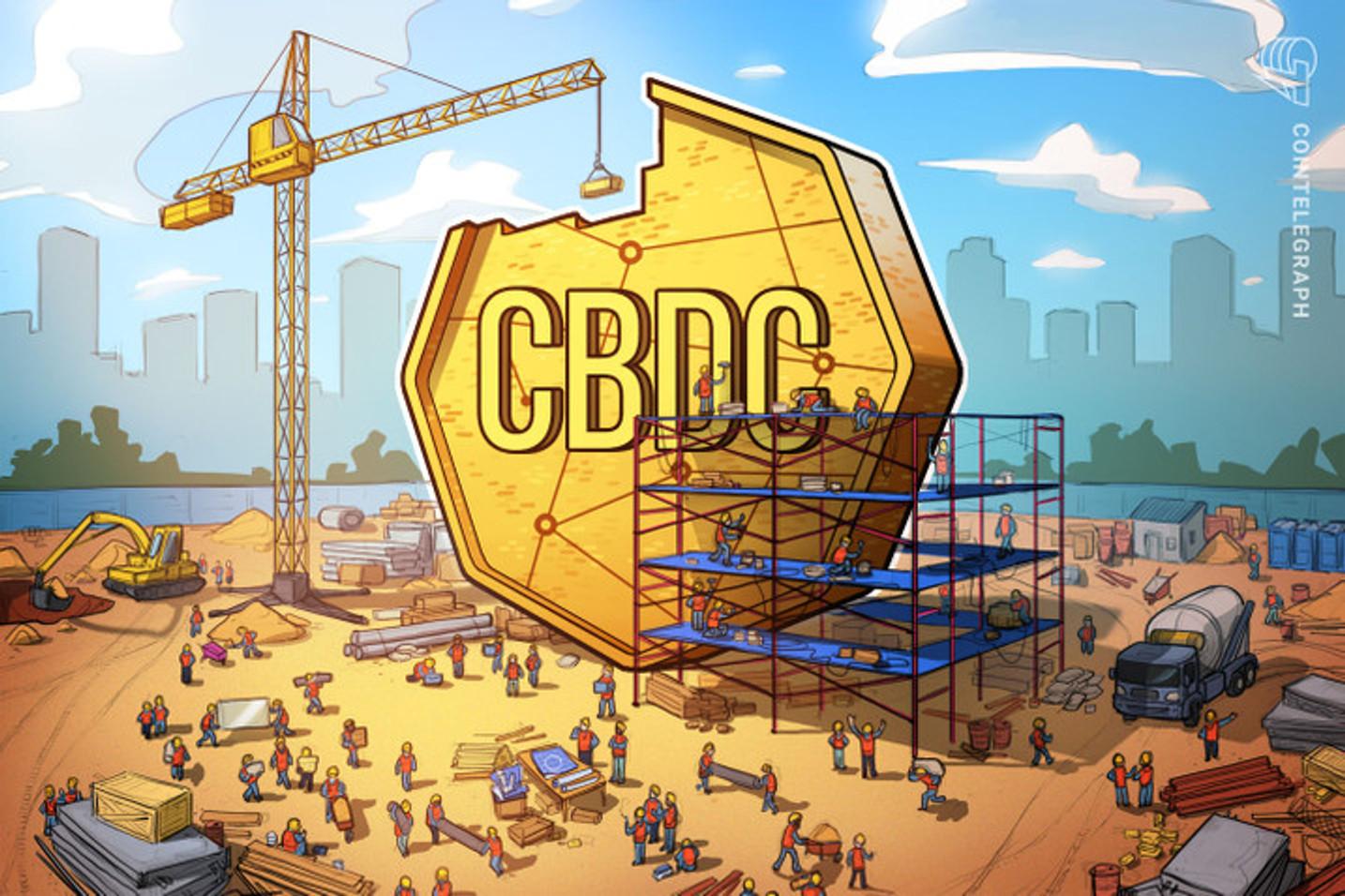 80% dos bancos centrais do mundo estão trabalhando para desenvolver CBDCs, revela pesquisa