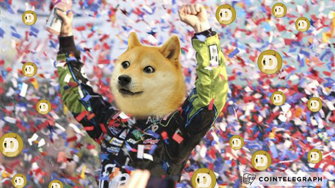 Dogecoin Delighted by Speed and Racing Sponsoring Josh Wise
