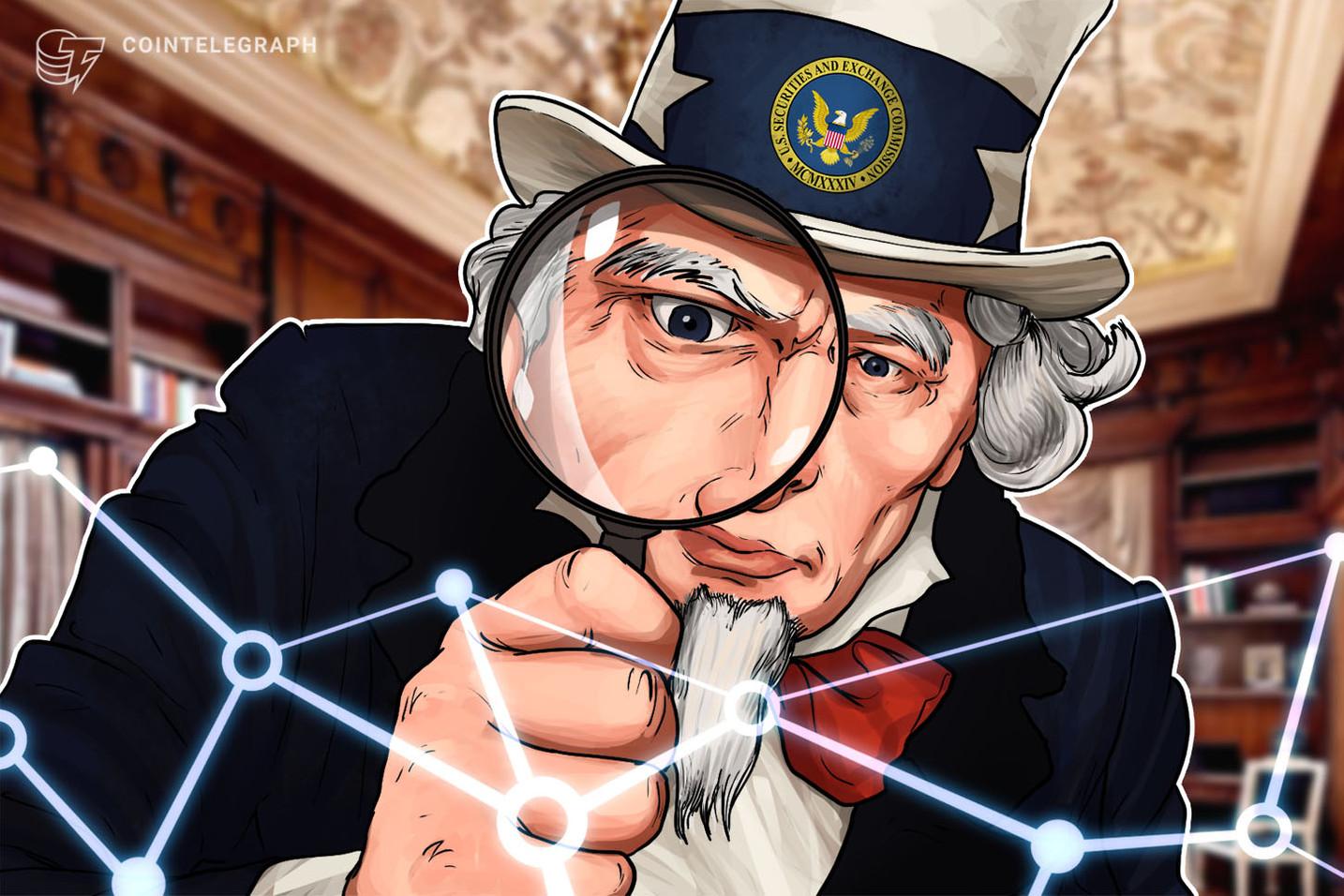 El regulador de valores de EE. UU. solicita empresas de análisis de blockchain para revisión de datos