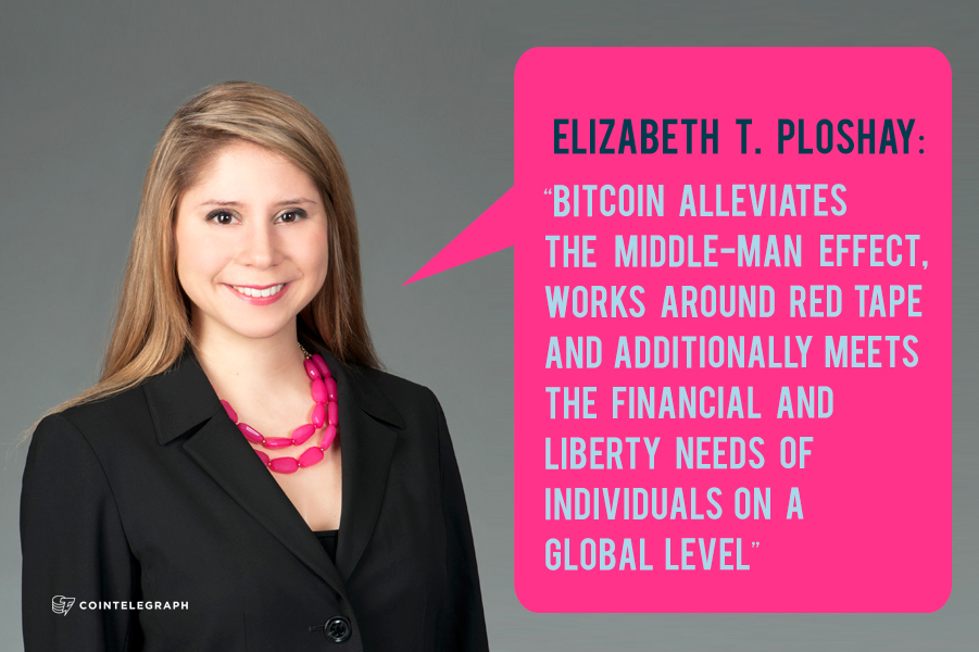 Interview: Bitcoin Foundation board member Elizabeth T. Ploshay
