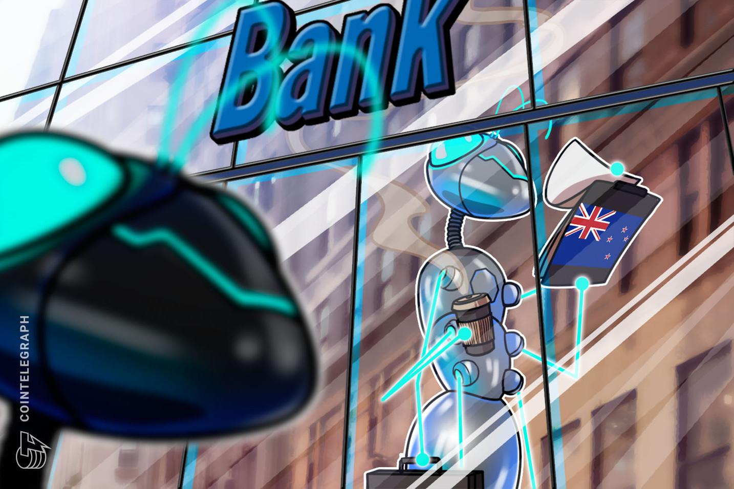 بنك نيوزيلندا ASB يستثمر في منصة بلوكتشين التجارية المحلية