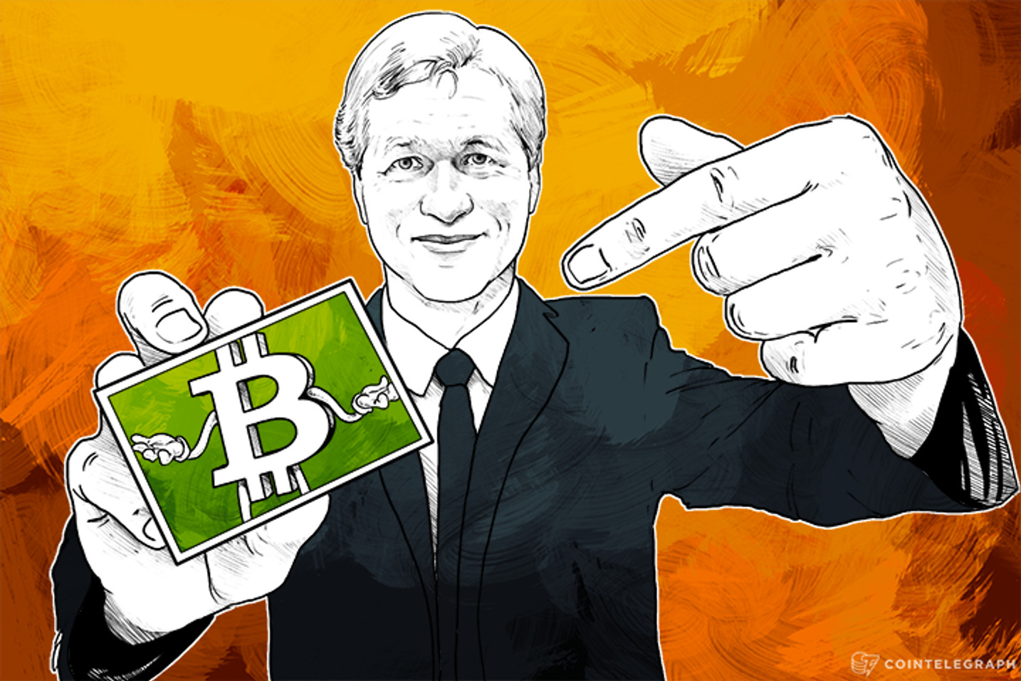 JP Morgan CEO: We Will Compete with Bitcoin Startups 'Partnering Where It Makes Sense'