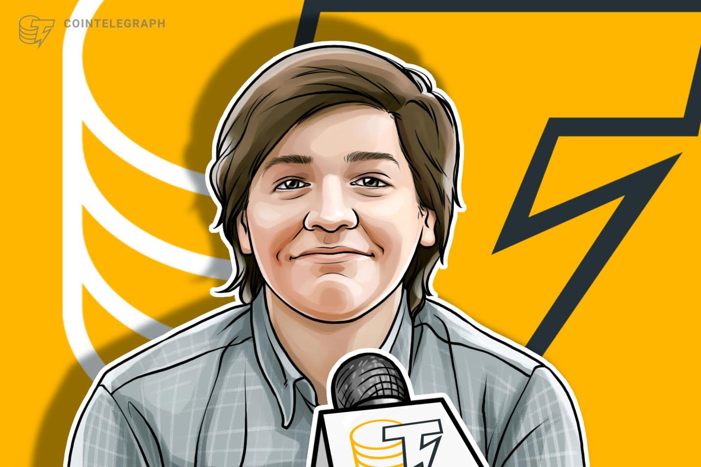 """Joaquin Morinigo: """"Bitcoin es básicamente el oro de mi generación, de la Generación Z"""""""