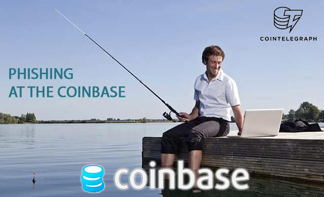 Phishing at the Coinbase: a bug or a feature?