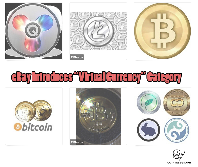 "eBay Introduces ""Virtual Currency"" Category"