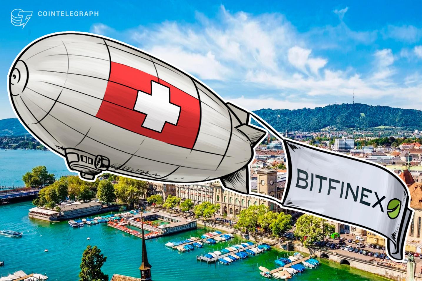 A quinta maior casa de câmbio cripto do mundo Bitfinex quer se mudar para a Suíça