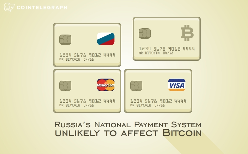 Russia's National Payment System unlikely to affect Bitcoin
