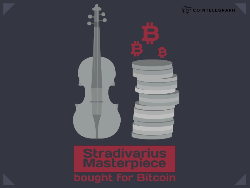 Stradivarius Masterpiece bought for Bitcoin