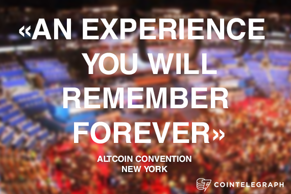 One-of-a-kind Altcoin Convention in New York Today, 9 April