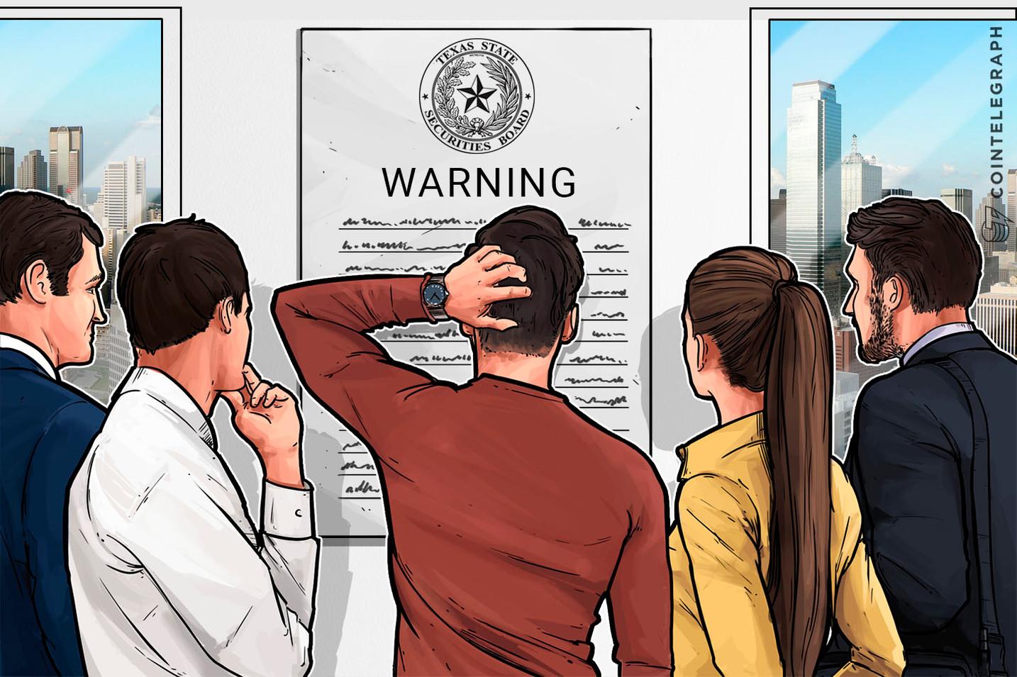 """Regulador de Texas inspecciona a 32 criptopromotores y advierte sobre el """"fraude generalizado"""""""