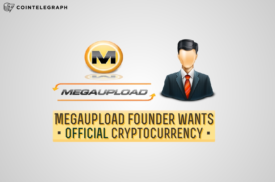 Megaupload founder wants official cryptocurrency
