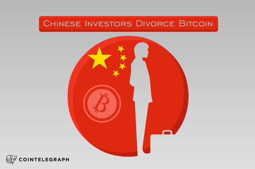 Chinese Investors Divorce Bitcoin, Threshold Value Breached