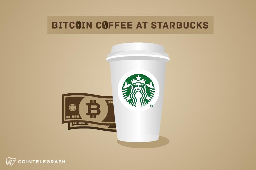Bitcoin Coffee at Starbucks