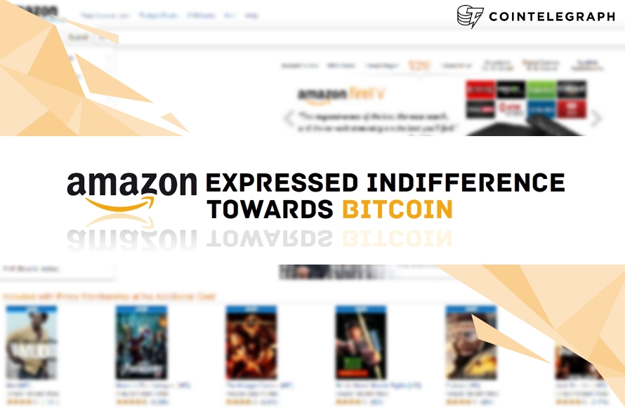 Amazon Expresses Indifference towards Bitcoin