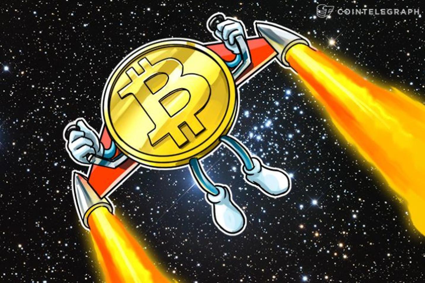 El precio de Bitcoin no tendrá 'ninguna dificultad' en alcanzar los $10k, con 30,000 carteras nuevas al día: Max Keizer