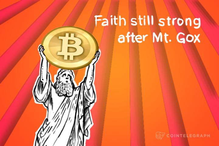 Faith still strong after Mt. Gox